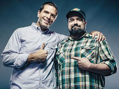 Josh and Chuck